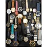 SELECTION OF LADIES AND GENTLEMEN'S WRISTWATCHES including Swatch, Hugo Boss, Timex, Sekonda, Lorus,