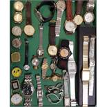 SELECTION OF LADIES AND GENTLEMEN'S WRISTWATCHES including Timex, Sekonda, Reflex, Lorus, Tissot,