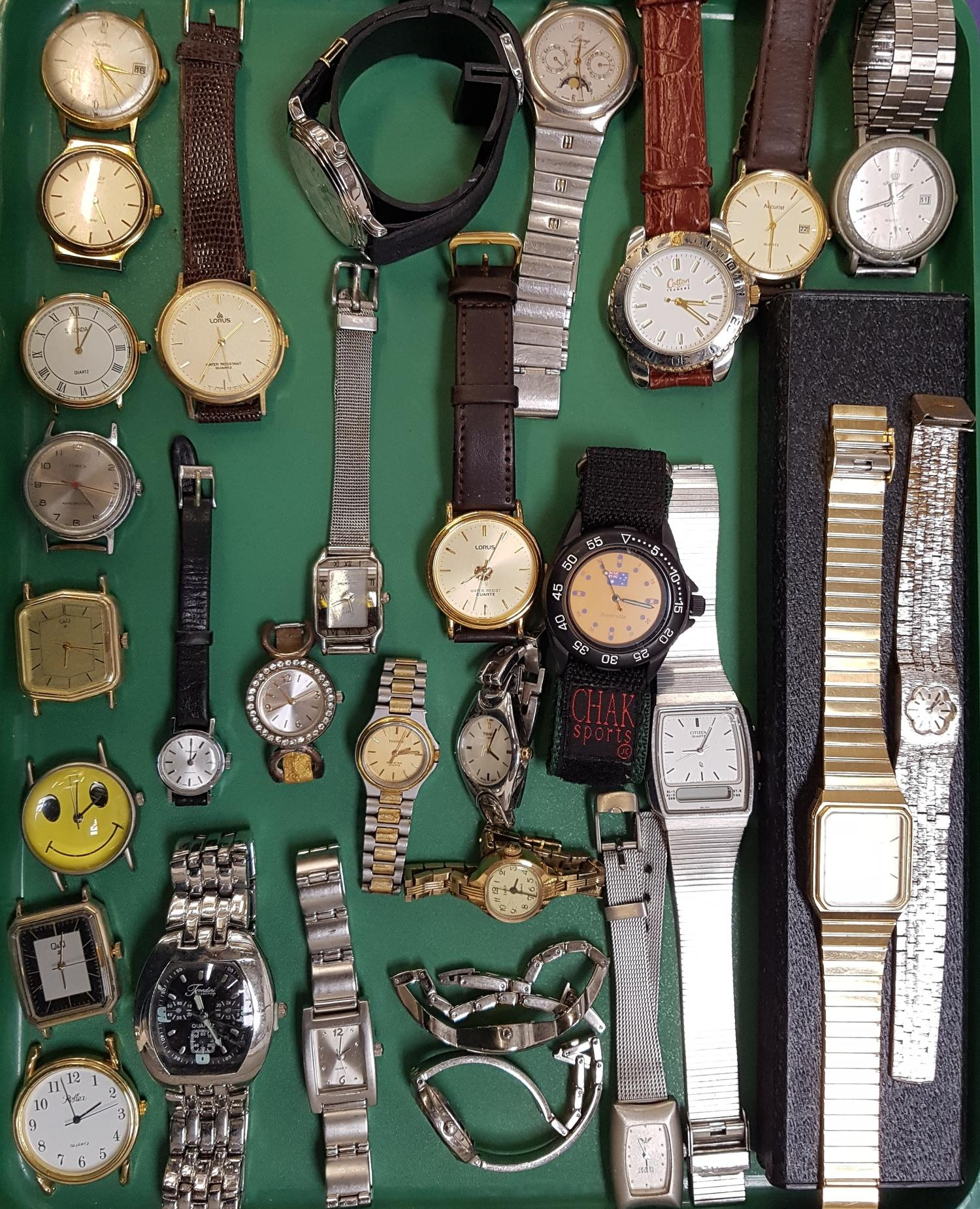 Lot 49 - SELECTION OF LADIES AND GENTLEMEN'S WRISTWATCHES including Timex, Sekonda, Reflex, Lorus, Tissot,
