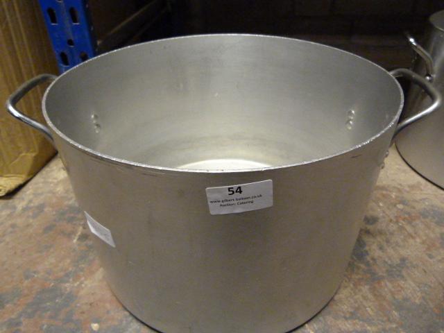 """Lot 54 - 12"""" Aluminium Two Handled Saucepan"""