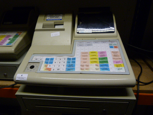 Lot 6 - *Geller ET-6800 Electronic Cash Register