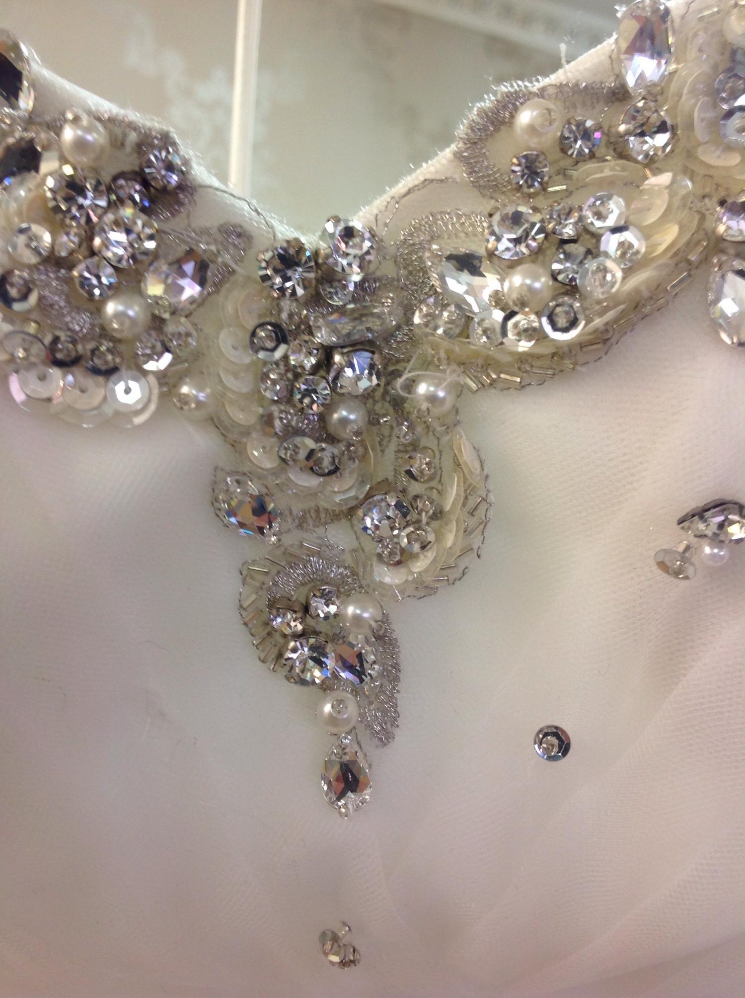Lot 320 - (3) 4 x wedding gown samples, total rrp £3227, 3x Ronald Joyce, 1x MJ Bridal Fashions