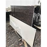 LOT OF GRANITE SLABS