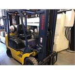 Komatsu (FG25ST-12) 5,000 lbs. cap LPG Forklift