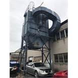 40 HP OUTDOOR DUST COLLECTOR W/ STARTER (BUYER RESPONSIBLE FOR PAYING $2,000 FOR REMOVAL)