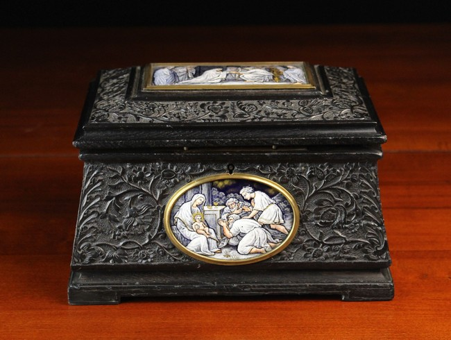 Lot 52 - A Fine Quality 19th Century French Jewellery Casket by Tahan, Paris.