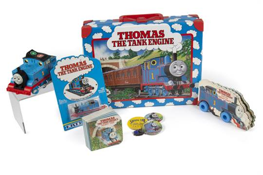 RINGO STARR THOMAS THE TANK ENGINE COLLECTIBLES A Group Of Toys And