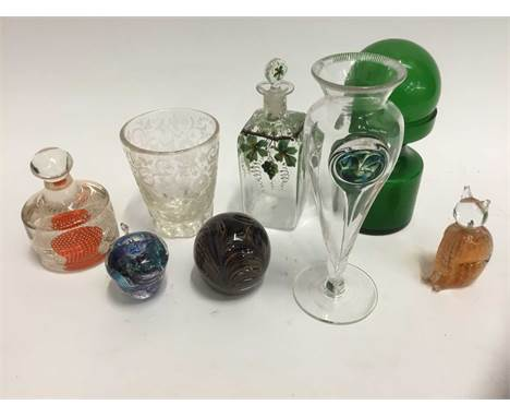 Good collection of glassware, 19th / 20th. century,