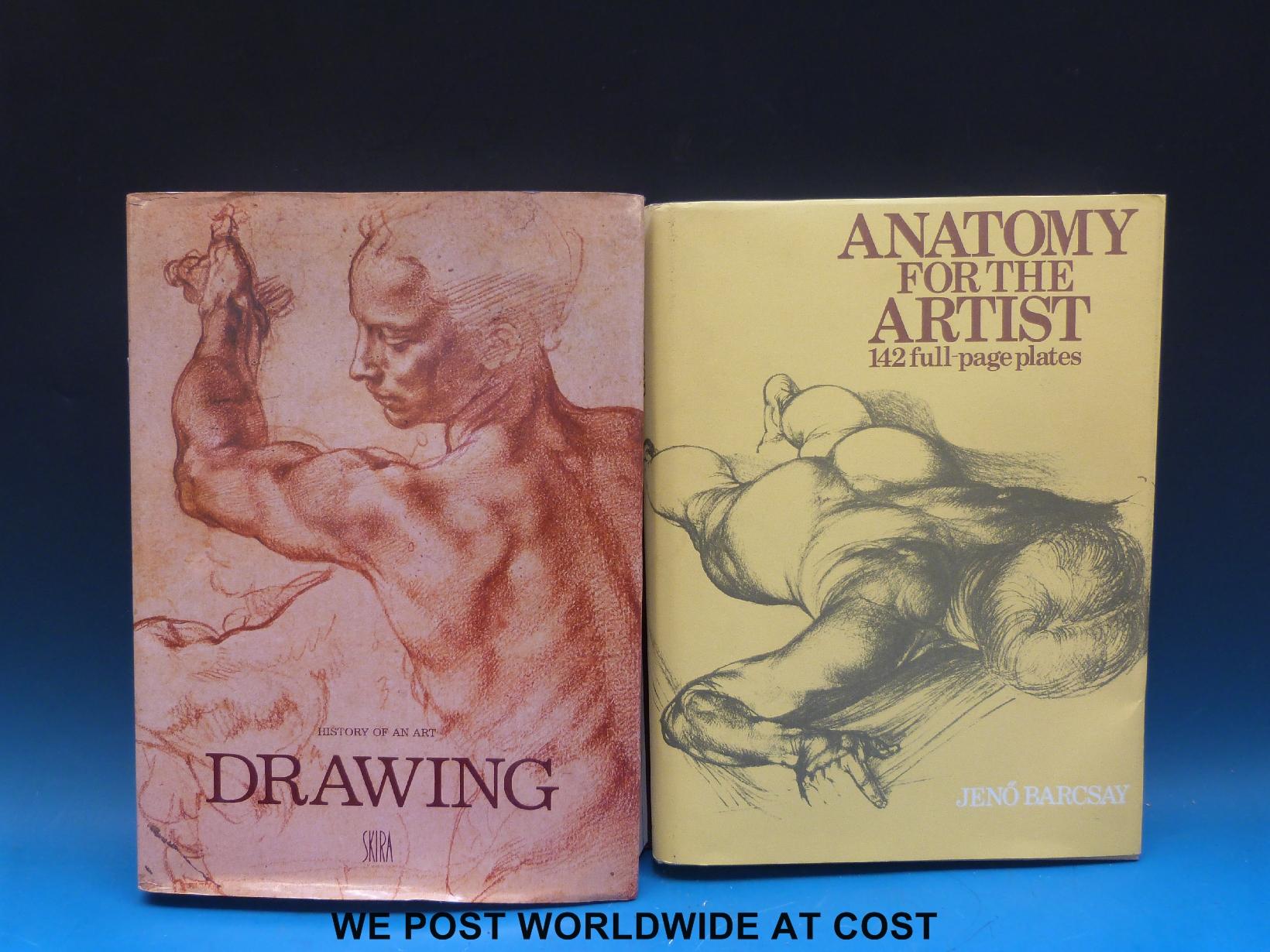 Jeno Barcsay, Anatomy for the Artist (London, Macdonald 1986) a ...