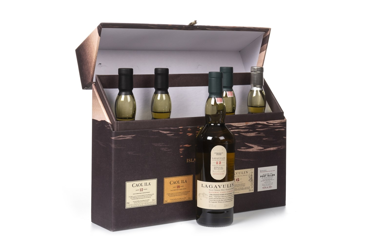 Lot 1003 - THE CLASSIC ISLAY COLLECTION - 5 X 20CL