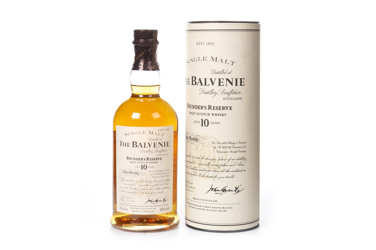 Lot 1031 - BALVENIE FOUNDER'S RESERVE AGED 10 YEARS
