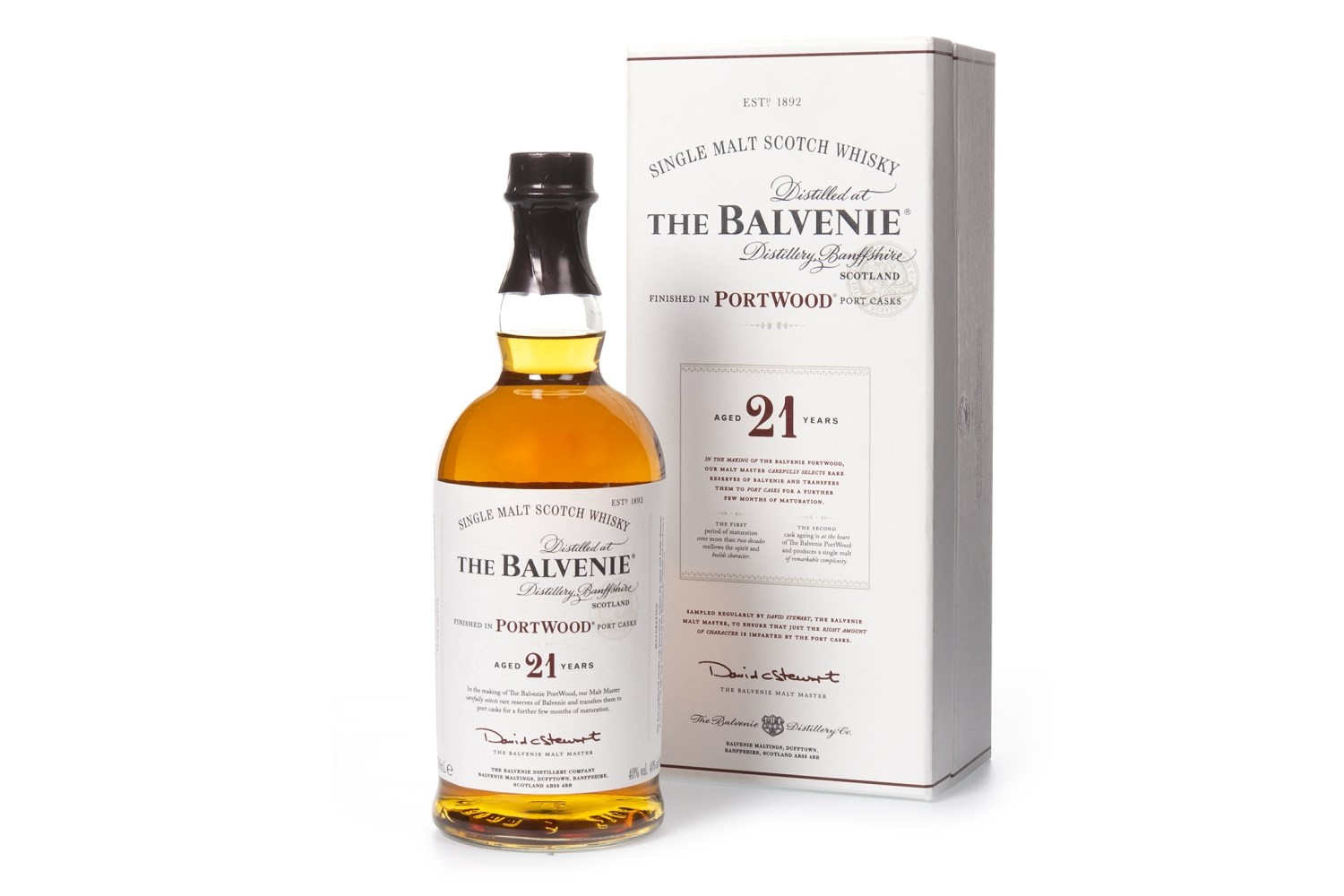 Lot 1046 - BALVENIE PORTWOOD AGED 21 YEARS
