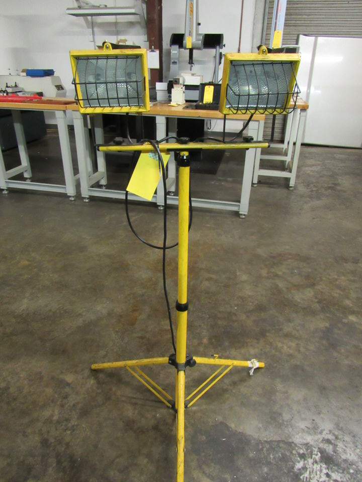 Listed Work Light, 53 TK, with stand