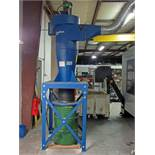 Donaldson Torit Model 20 CYC Cyclone Collector Dust Collection System, 5 hp, 2000 cfm cap., 20""