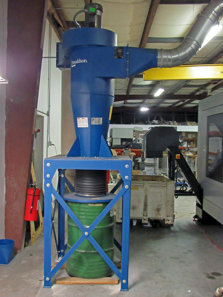 Lot 47 - Donaldson Torit Model 20 CYC Cyclone Collector Dust Collection System, 5 hp, 2000 cfm cap., 20""