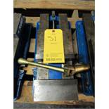 "Kurt Model D688 Single Station Machine Vise, 8.8"" opening, 6"" jaw width, 7342 lbs. clamping force at"