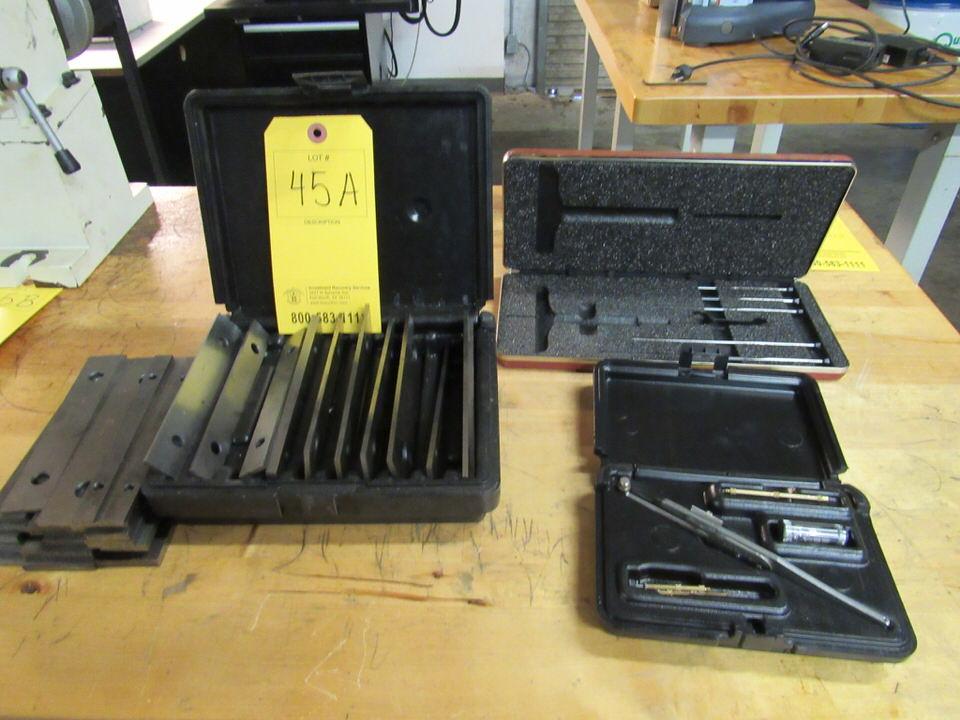Lot 45A - Parallel Set and Misc. QC Tools