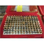 """Changda Pin Gage Set, 125 pieces, 0.501"""" - 0.625"""", Minus M3-"""