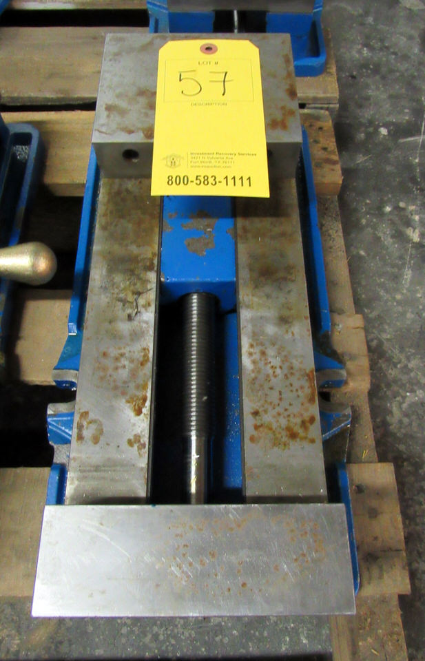 """Lot 57 - Kurt Model D688 Single Station Machine Vise, 8.8"""" opening, 6"""" jaw width, 7342 lbs. clamping force at"""