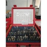 """Pin Gage Set, 0.061"""" - 0.250"""", Model M1, Minus"""