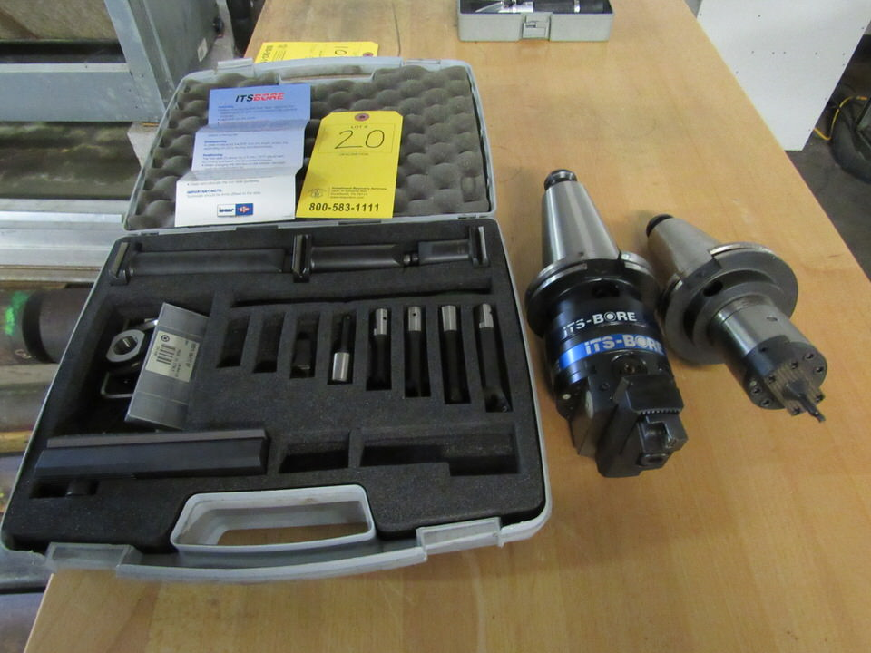 Lot 20 - Iscar ITS-Bore BHF/BHFI 63 – 125 Set