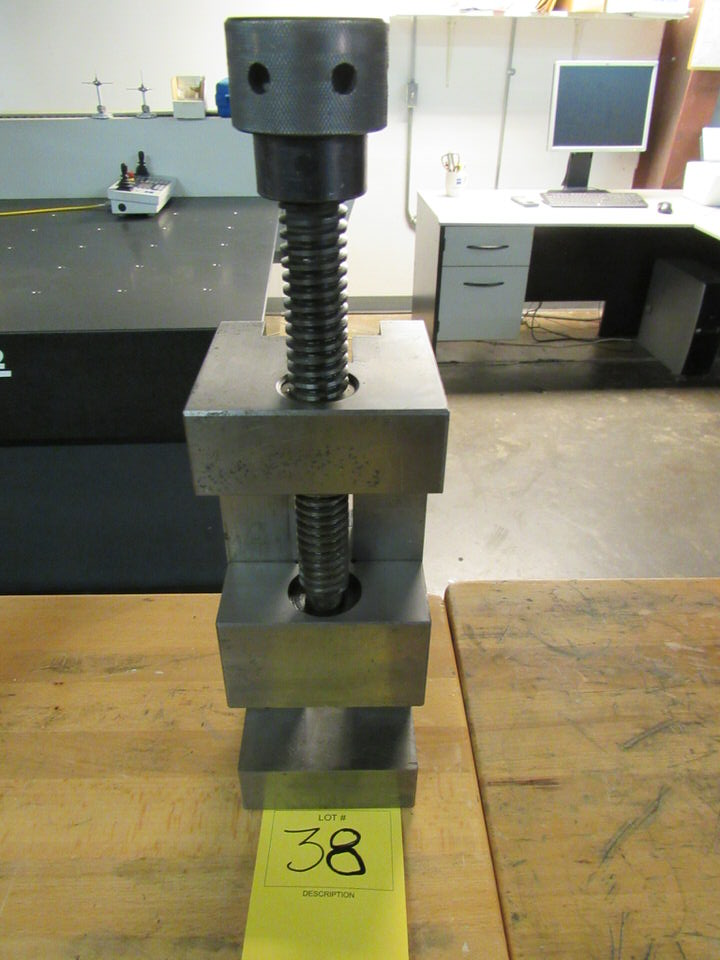 """Lot 38 - Precision Toolmaker's Vise, 5"""" opening, 4"""" jaw width"""