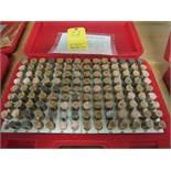 """Changda Pin Gage Set, 125 pieces, 0.626"""" - 0.750"""", Minus M4-"""