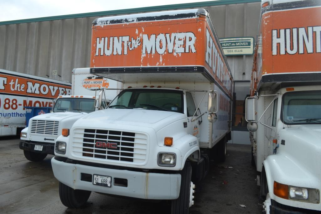 1999 GMC Single-Axle 26 ft. Box Moving Van Truck Model C7500, VIN 1GDL7H1D9XJ519539, NWC 26 ft. Move - Image 2 of 3