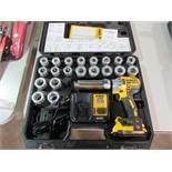 DeWalt Model DCE151 Unused 20V Cordless Cable Stripper
