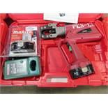 Burndy Products Model Patriot PATCUT129ACSR-18V 18V Cordless Electric Cutter