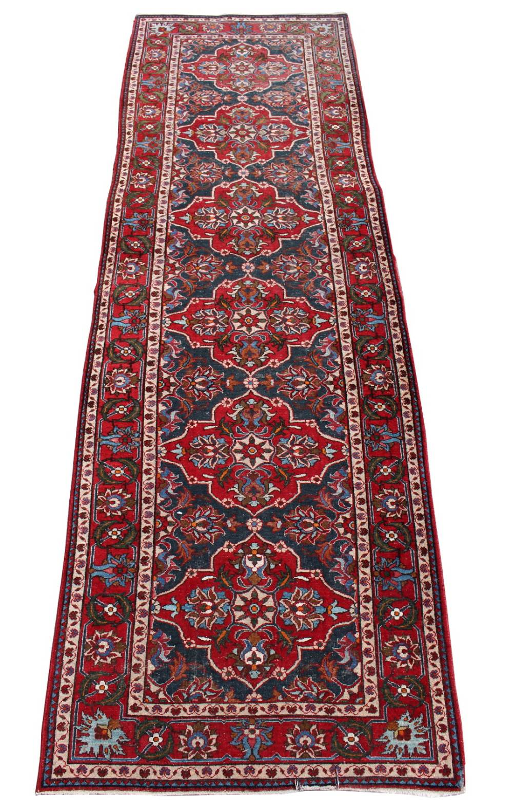 Lot 36 - Property of a gentleman - a Persian runner, first half 20th century, 137 by 43ins. (348 by