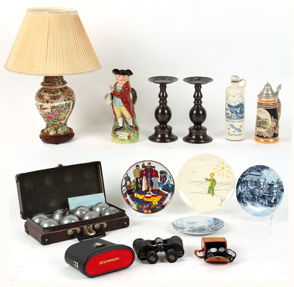 Lot 108 - Property of a gentleman - a quantity of assorted items including a late 19th / early 20th century '
