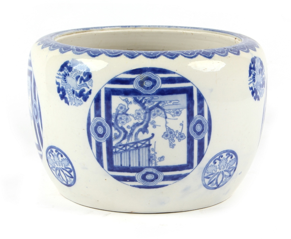 Lot 48 - Property of a lady of title - a late 19th / early 20th century Japanese Arita blue & white