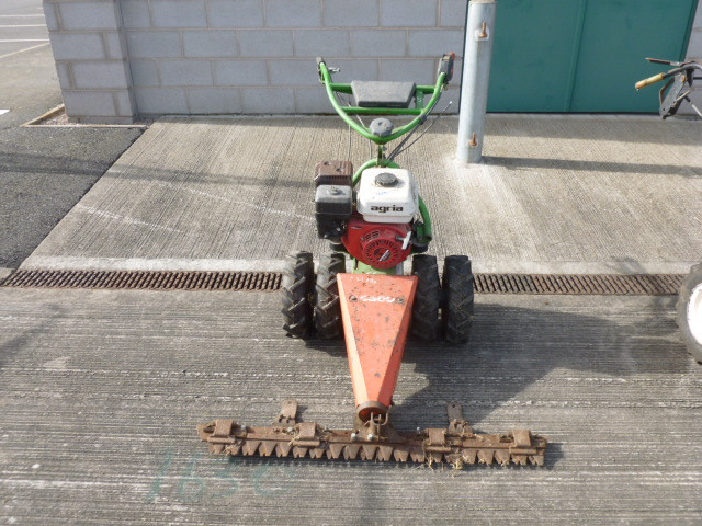 Lot 1629 - AGRIA FINGER BAR MOWER