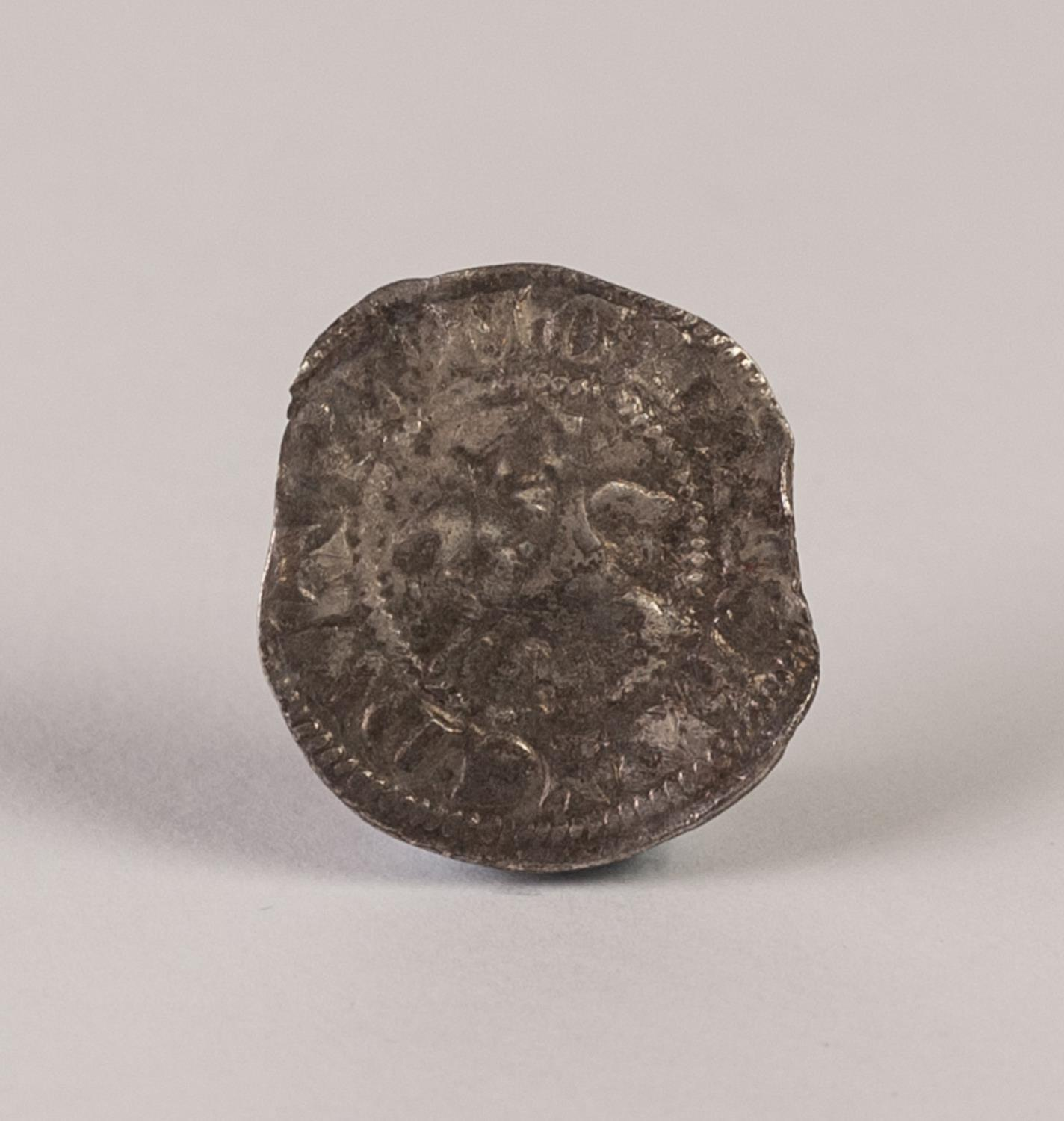 Lot 7 - EDWARD I HAMMERED SILVER LONG CROSS PENNY COIN, Canterbury, some looses