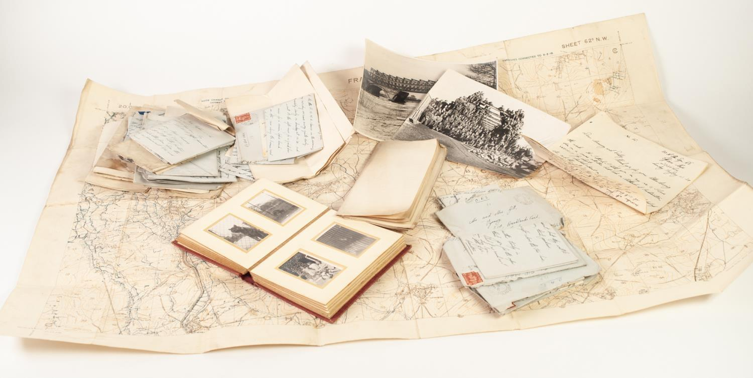 Lot 97 - SELECTION OF LETTERS AND EPHEMERA REGARDING TO CAPTAIN H.C. GILL AND RELATING TO WORLD WAR I AND