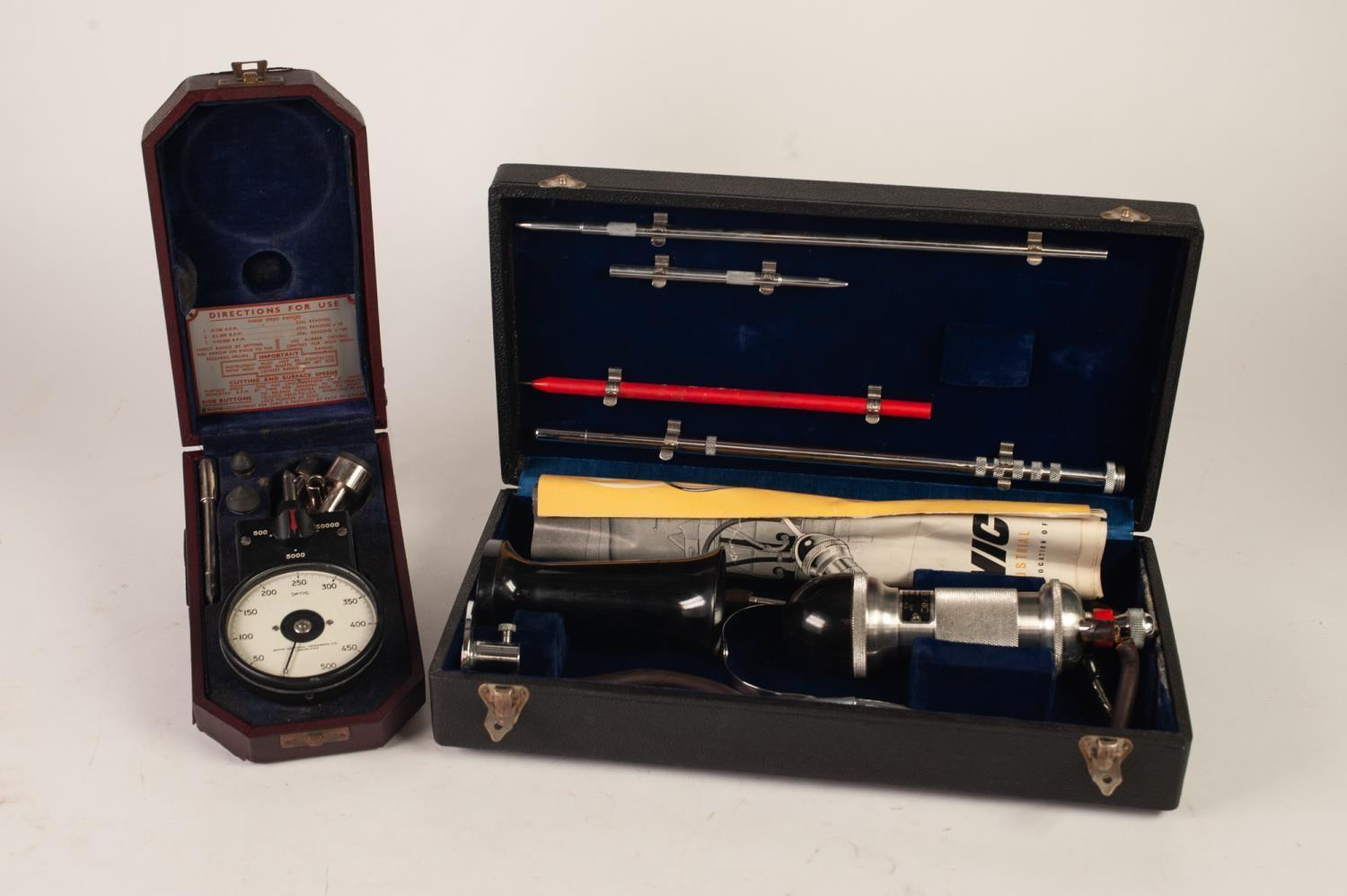 Lot 104 - THE MURCHIE TRADING CO. LONDON BOXED, VIRTUALLY MINT, AIR SONIC INDUSTRIAL STETHESCOPE complete with