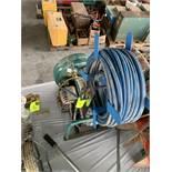 GAS POWER AIR COMPRESSOR, HONDA GX120 ENGINE - COMPRESSOR IS BAD