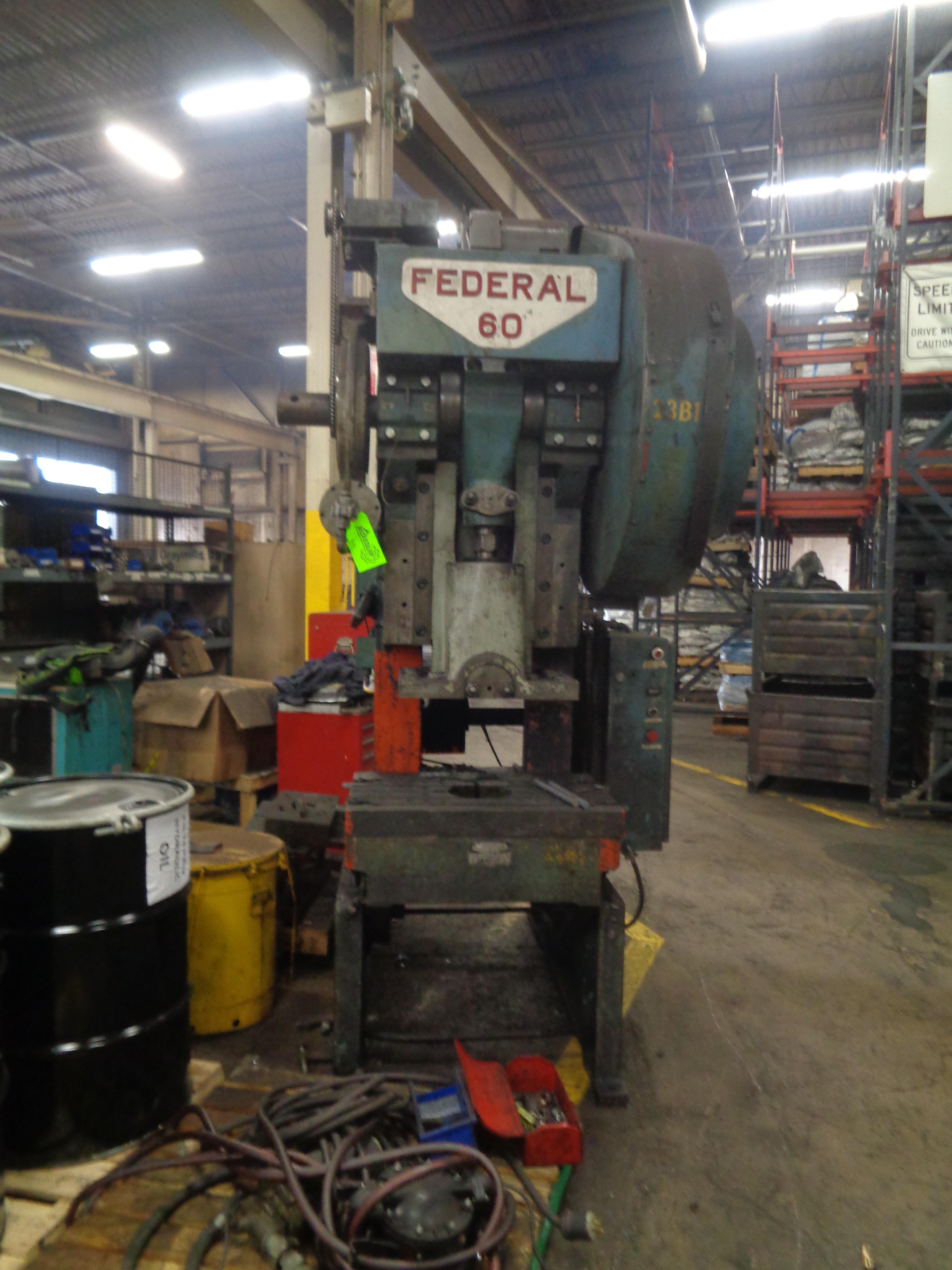 Federal Press 60 Ton - Located in Swedsboro NJ - Image 6 of 7