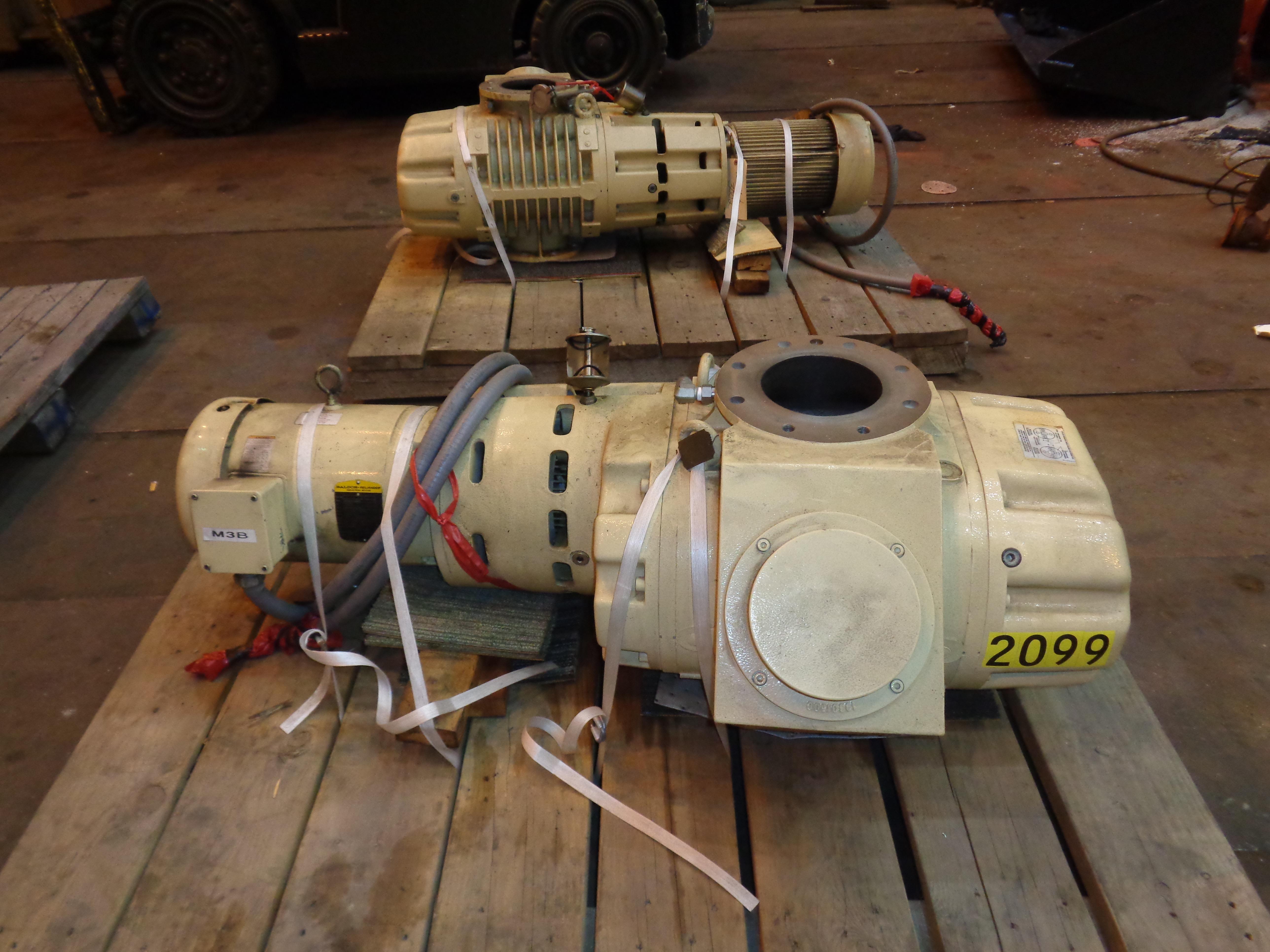 Lot of 3 Vacuum Pumps - Image 16 of 26