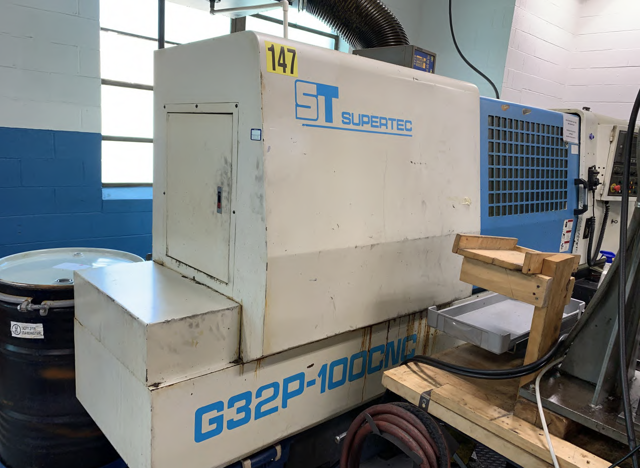 Supertec G32P 100 CNC Grinder