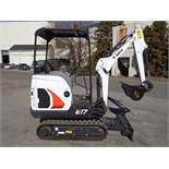 NEW Unused 2017 Bobcat E17 Mini Excavator