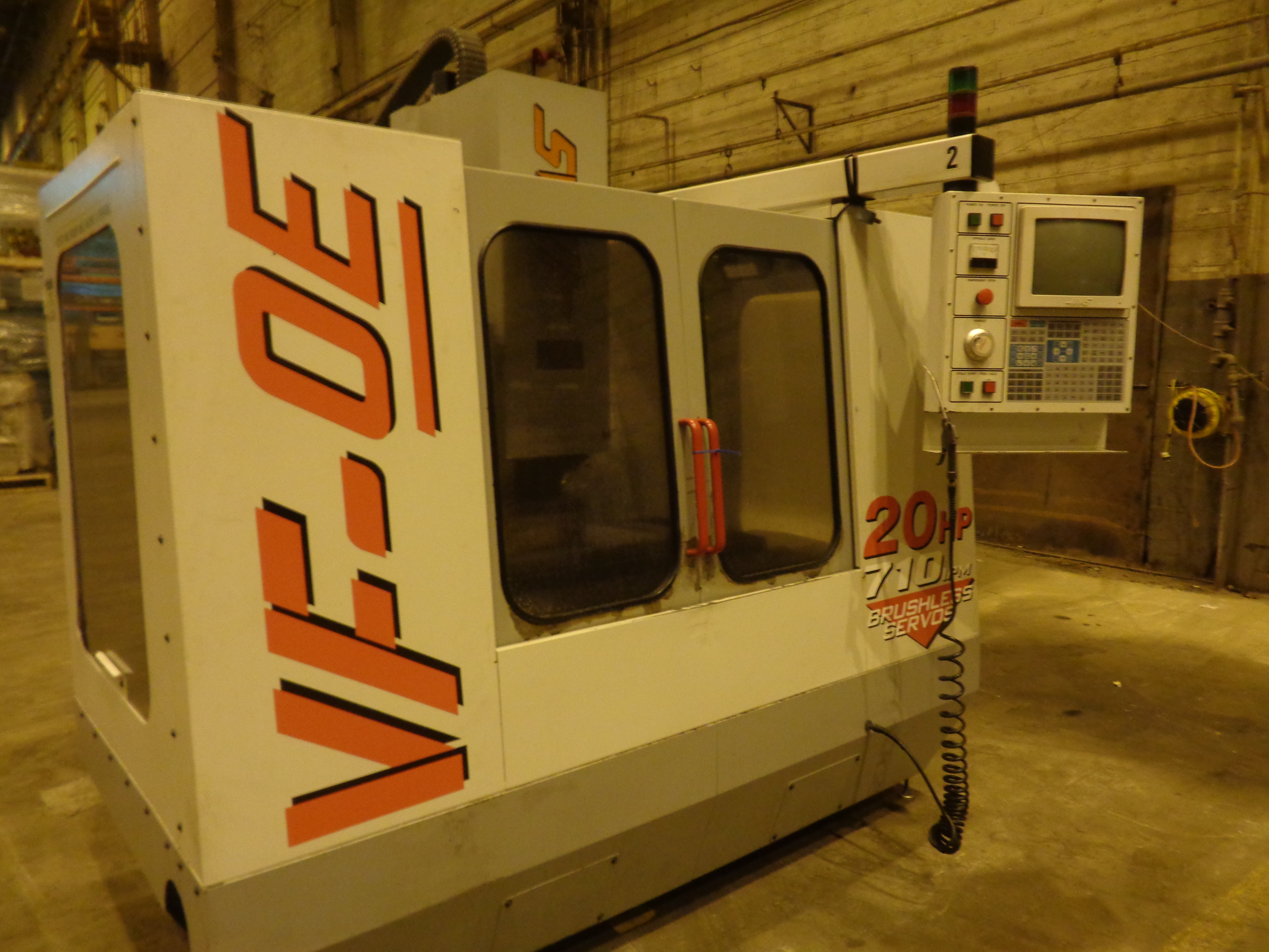 Haas VF-0E CNC Vertical Machining Center - Image 12 of 27