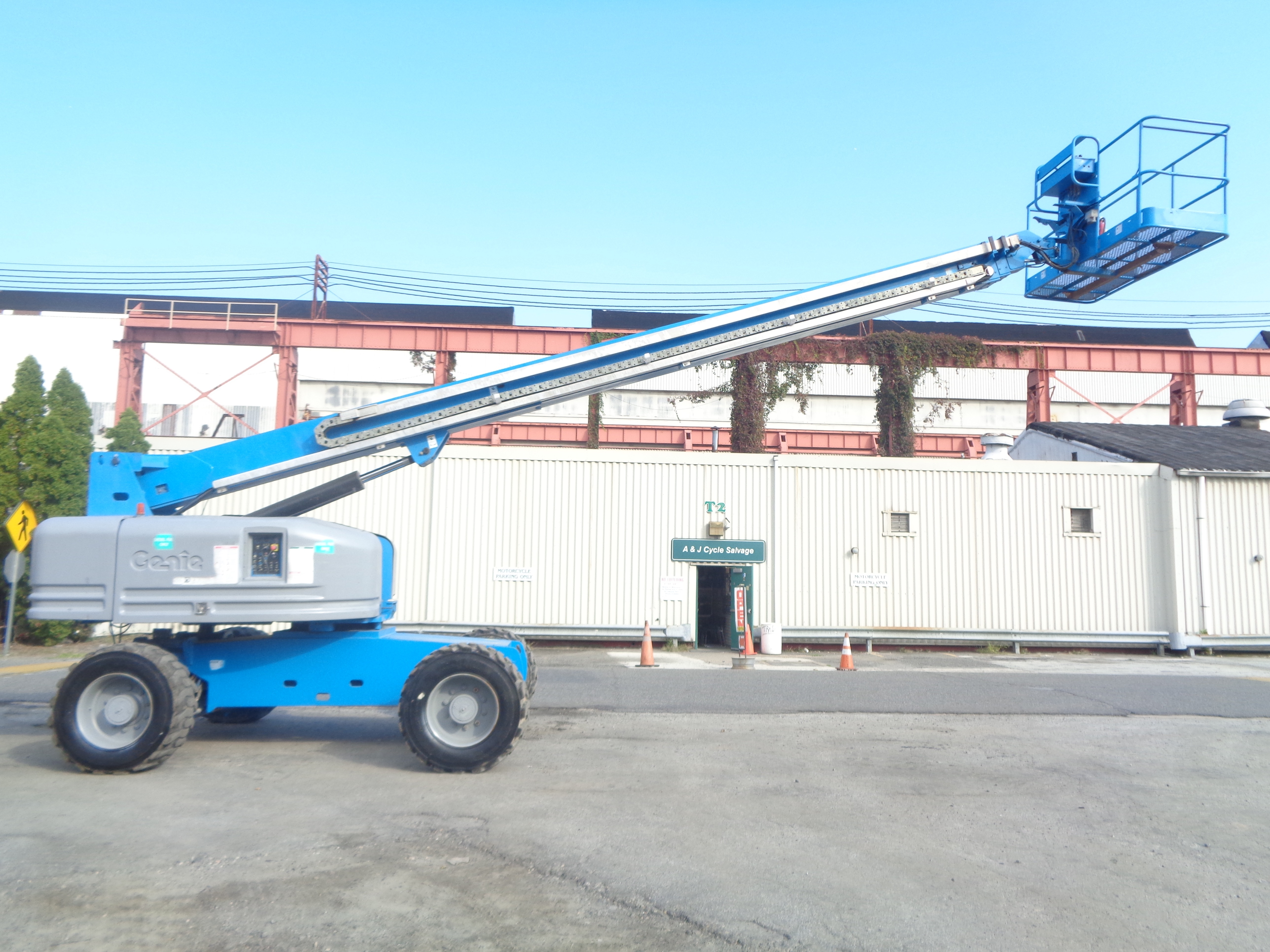 Genie S80 80ft Boom Lift - Image 15 of 22