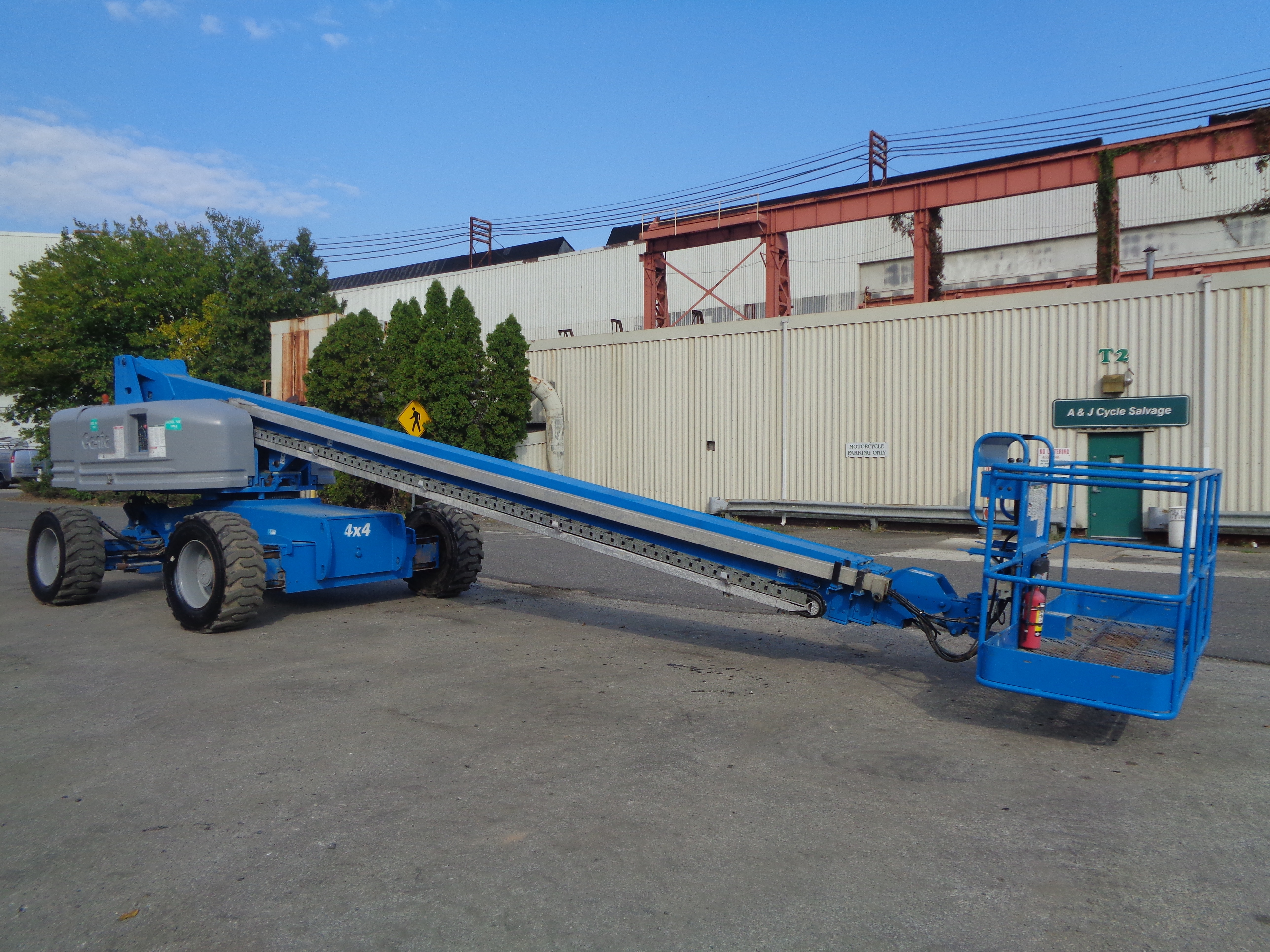 Genie S80 80ft Boom Lift - Image 11 of 22
