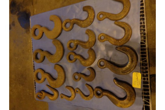Lot of 14 Riggers Hooks (#518) - Image 3 of 6