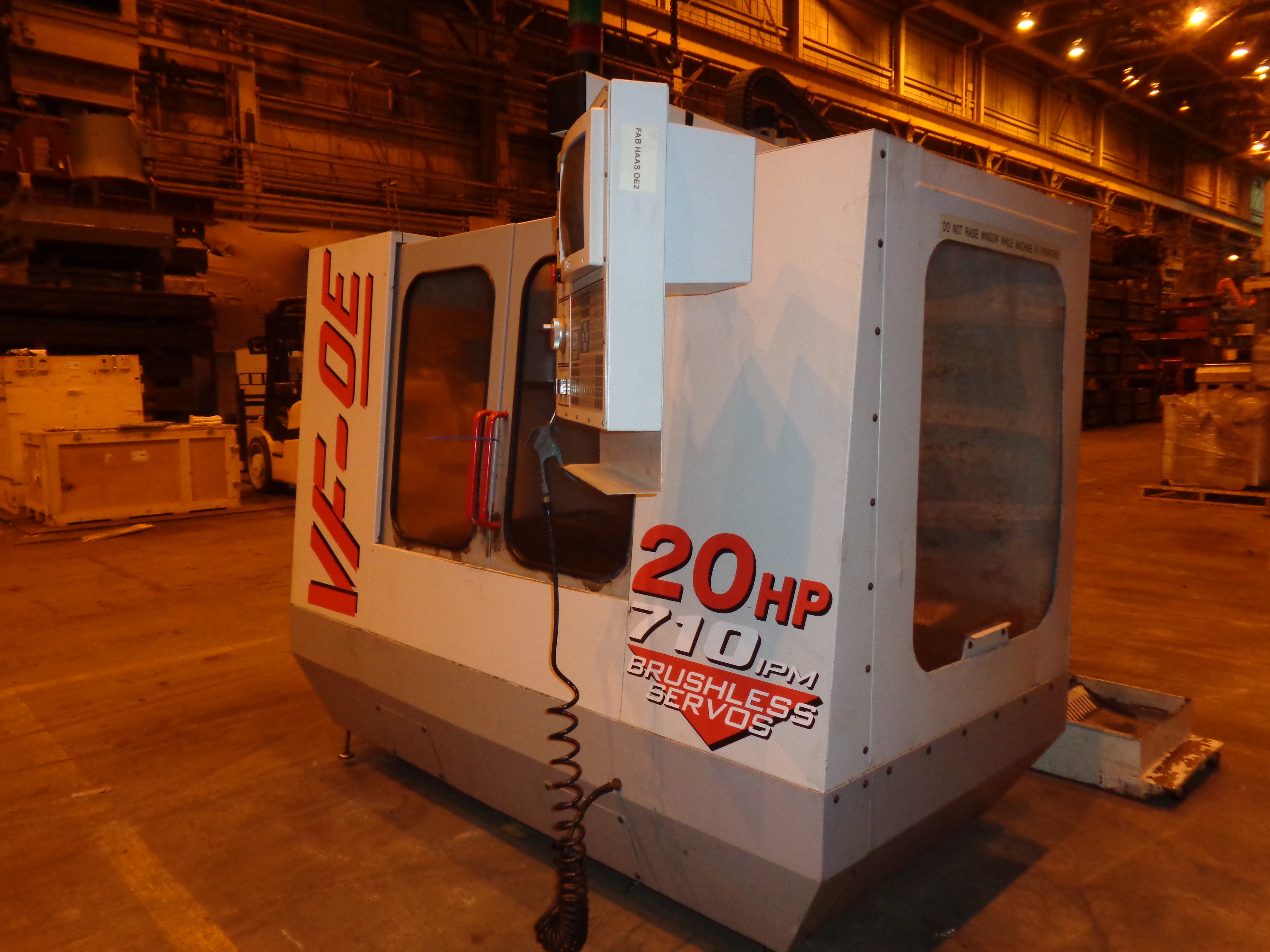 Haas VF-0E CNC Vertical Machining Center - Image 3 of 27