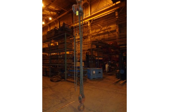 10 Ton CM Chain Hoist (#451) - Image 4 of 13