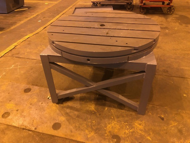 "48"" T Slotted Table"