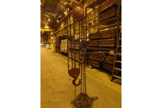 12 Ton Yale Chain Hoist (#15) - Image 5 of 10